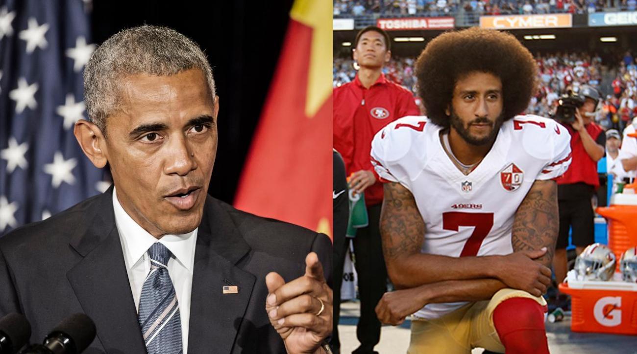 President Obama shows support for Colin Kaepernick
