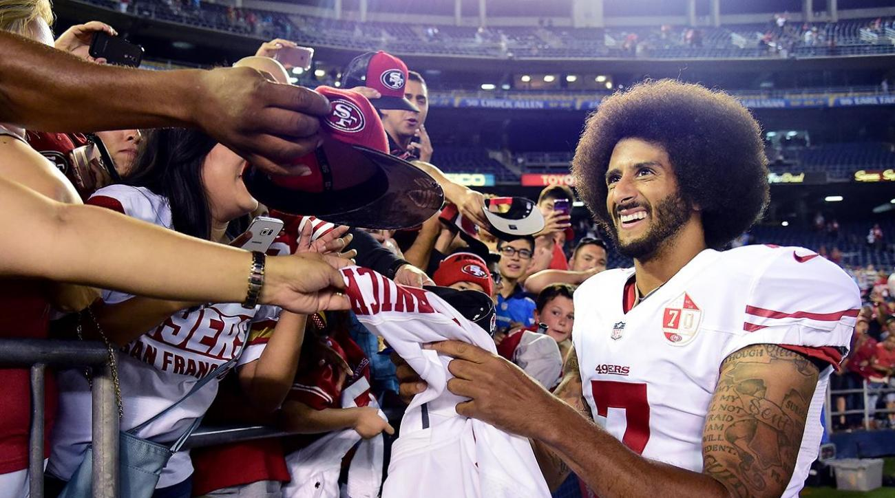 Colin Kaepernick to donate jersey sale proceeds to communities