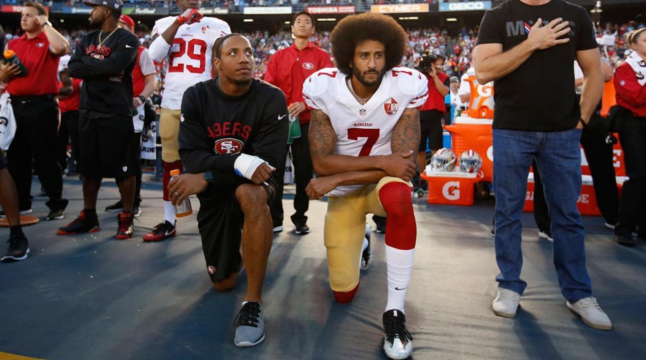 Colin Kaepernick addresses Muslim rumors