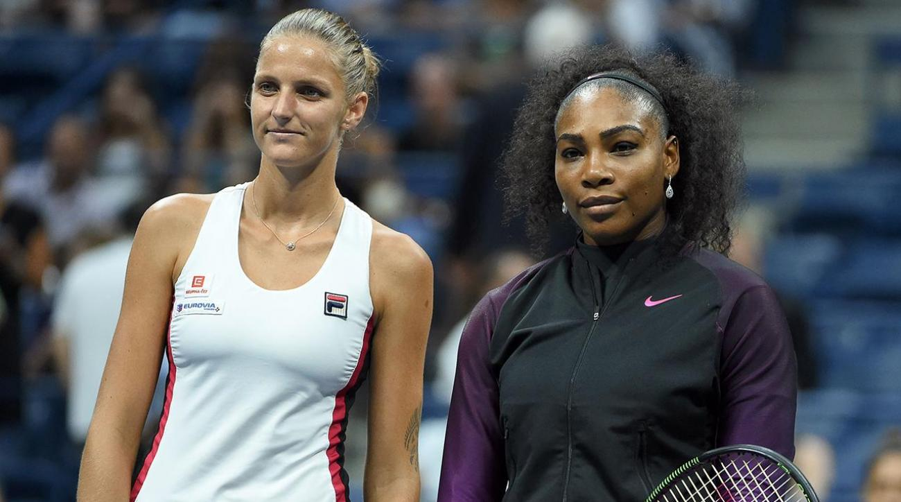 Serena Williams upset by Karolina Pliskova in U.S. Open semifinal IMAGE