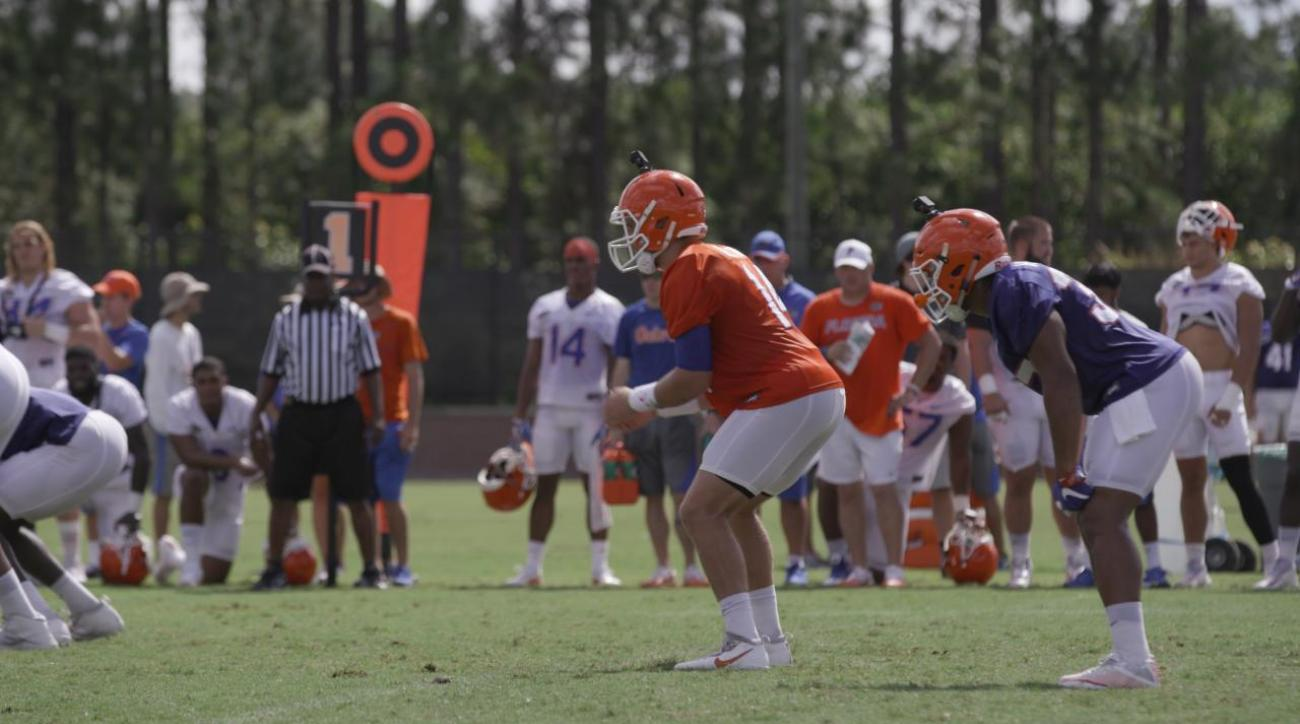 Go inside the helmet of Gators starting QB Luke Del Rio