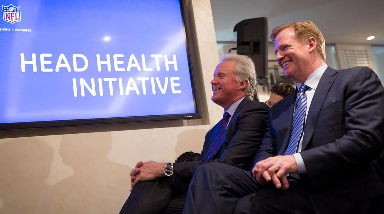 NFL committing $100 million in concussion initiative