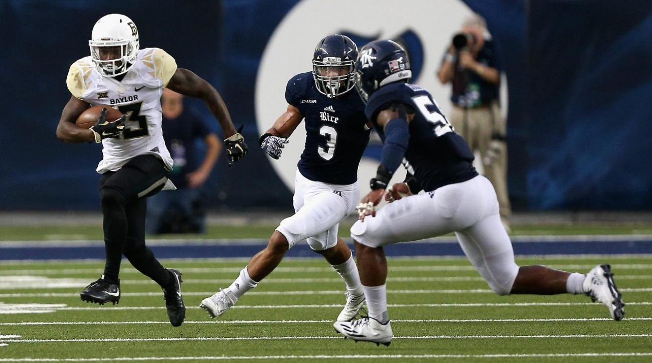 Rice marching band makes reference to Baylor rape scandal