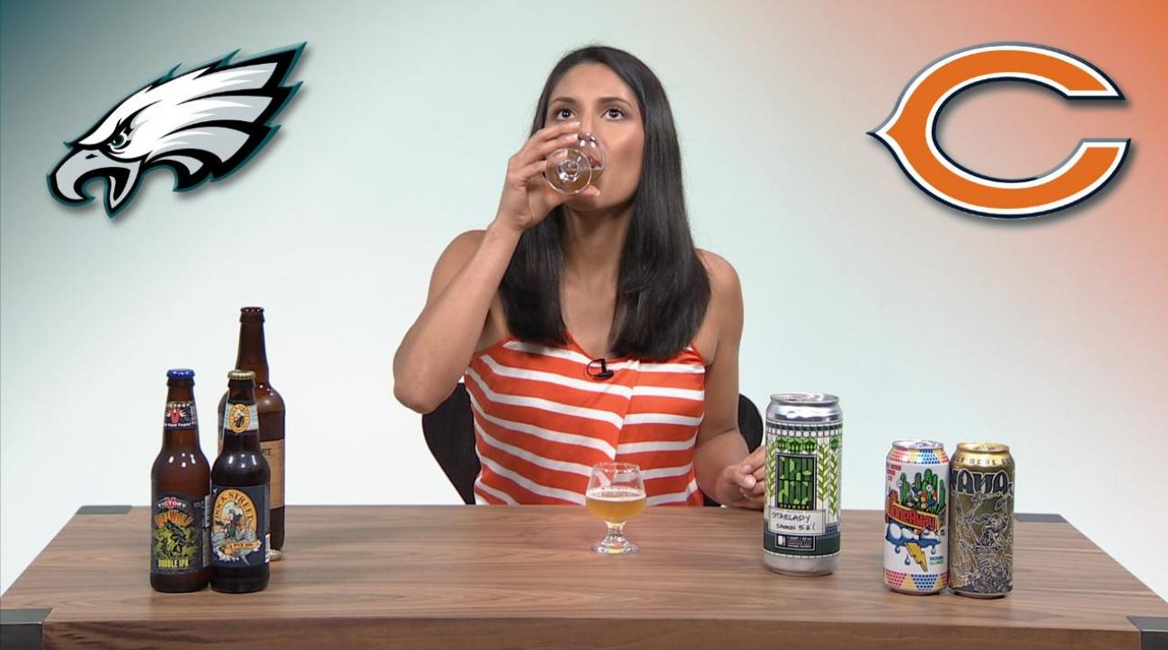 Monday Night Football Beer Pick 'Em Week 2: Philadelphia Eagles vs Chicago Bears IMG