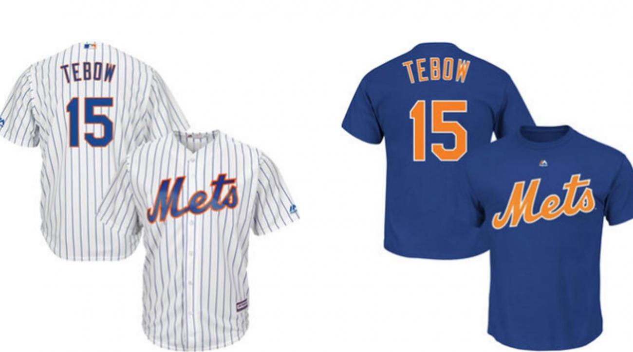 quality design d8355 b0d51 tim tebow baseball jersey