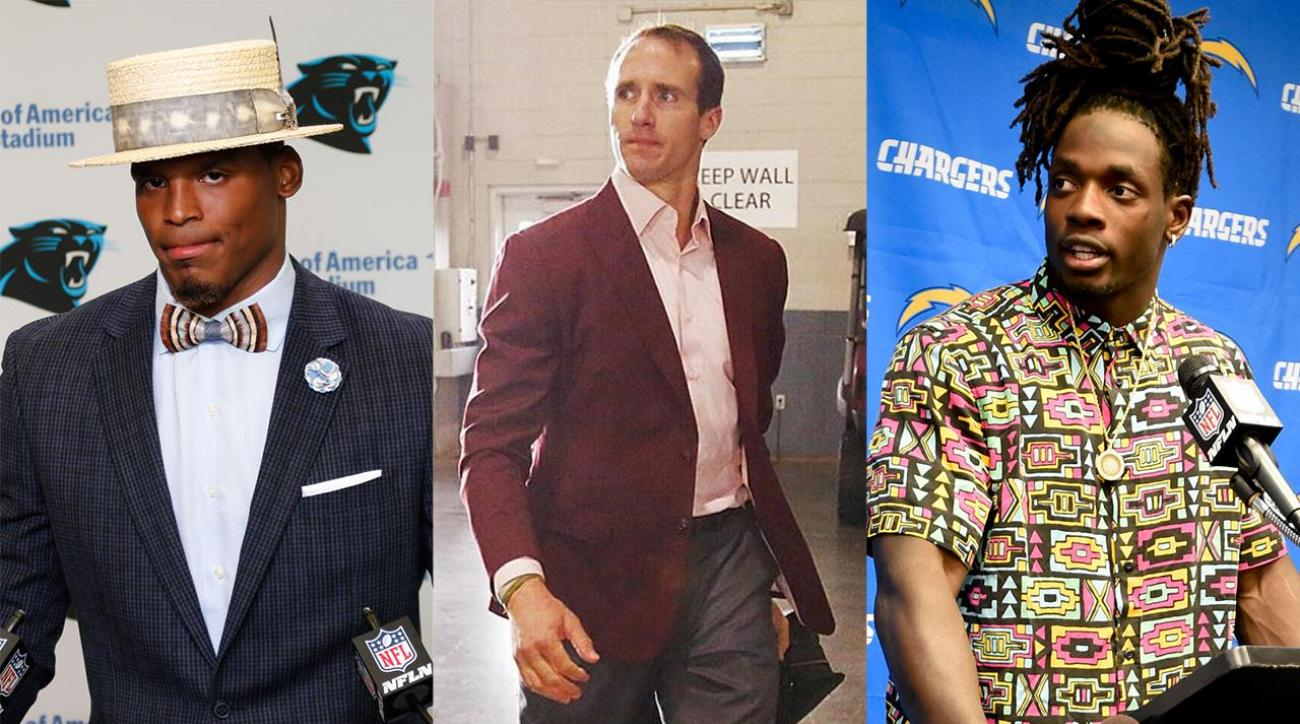 21e5fa794898 VIDEO - Sports Style Swipe: Best and worst dressed NFL players from Week 2  | SI.com