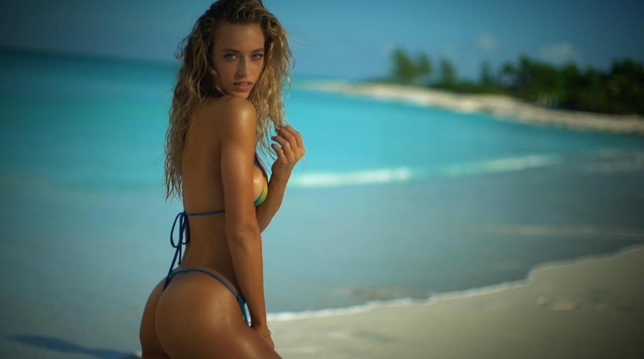 9113637166 Swimsuit Model Hannah Ferguson's Hottest Video | SI.com