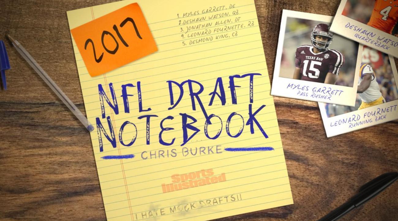 2017 NFL Draft Notebook: September 27th