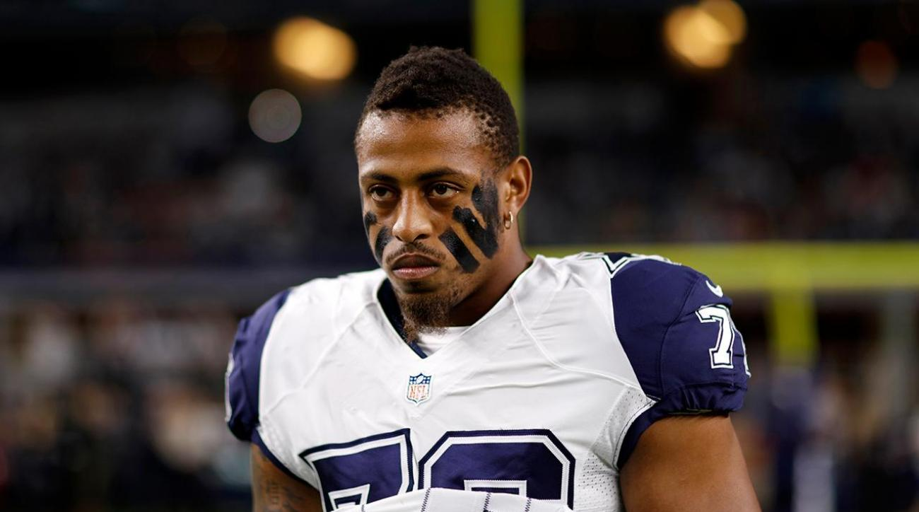 Greg Hardy arrested for possession of a controlled substance