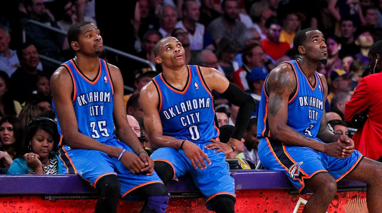 Kendrick Perkins: Durant, Westbrook 'never really valued each other'