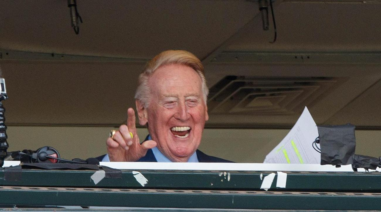 Vin Scully signs off for final time