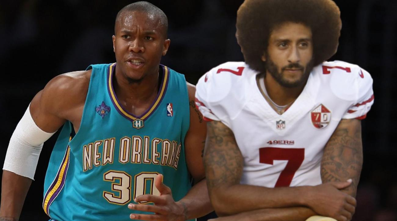 Warriors' David West protested anthem before Colin Kaepernick
