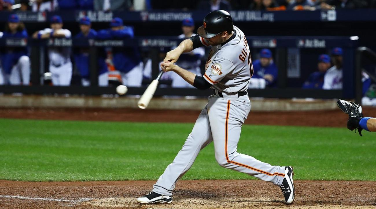 Madison Bumgarner pitches Giants to NLDS IMAGE
