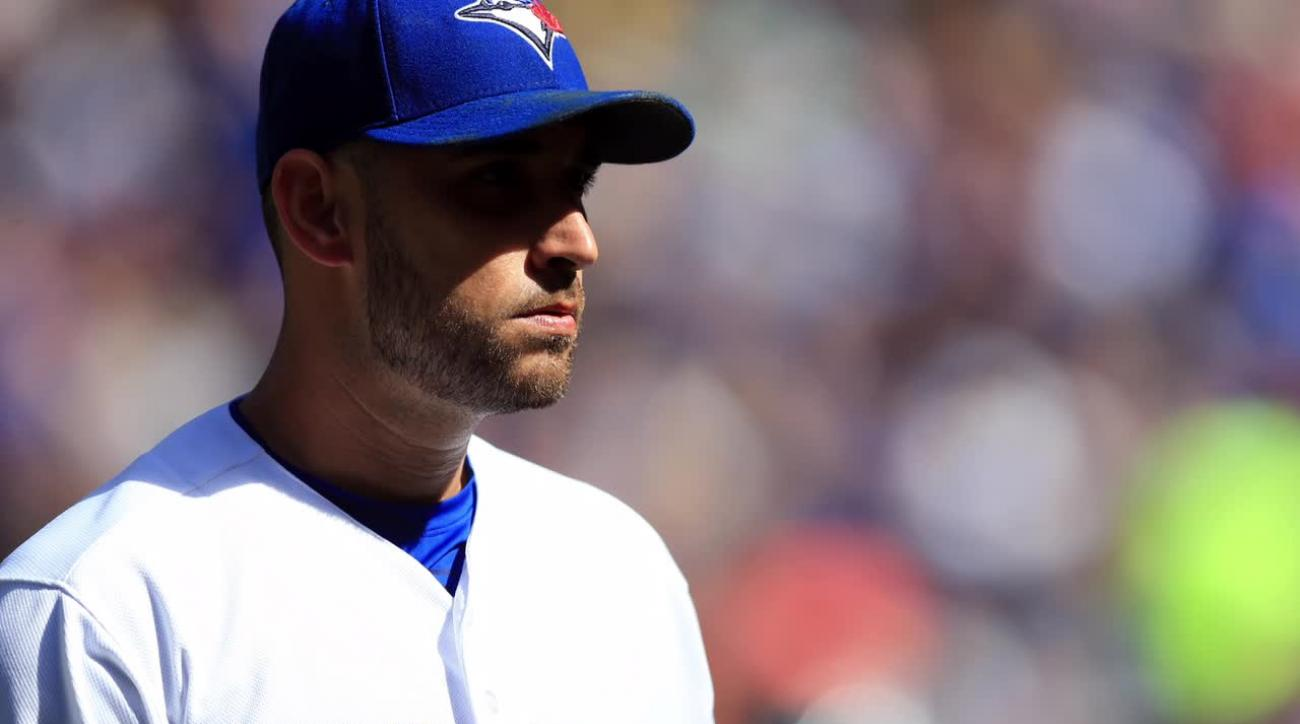Blue Jays annihilate Rangers in Game 1 of NLDS IMAGE