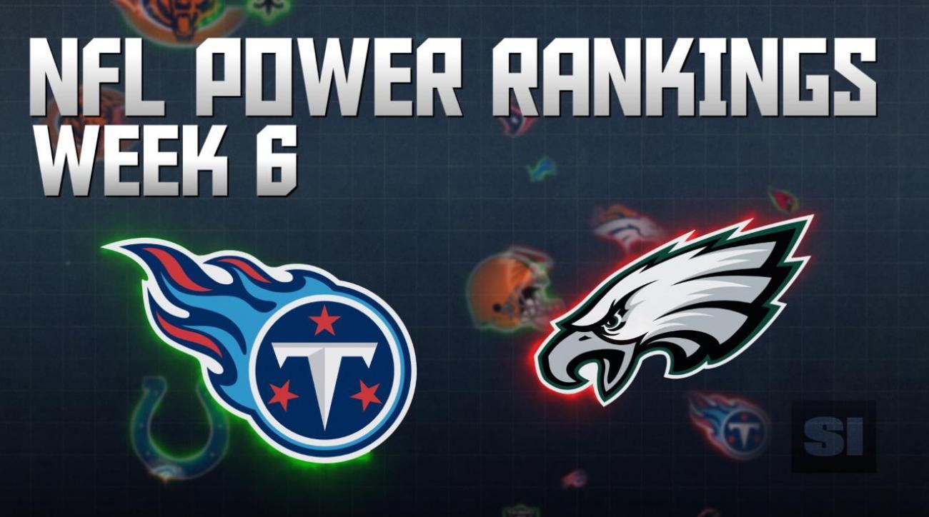 NFL Power Rankings: Week 6