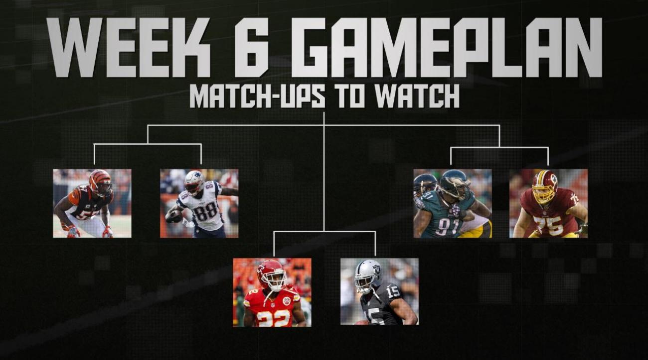 NFL's Week 6 Gameplan