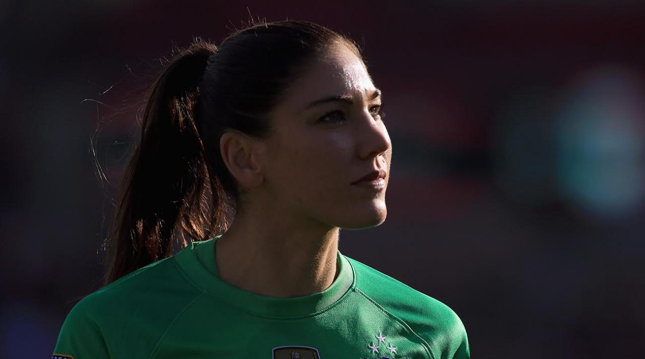 Hope Solo explains 'cowards' comments on Swedish television