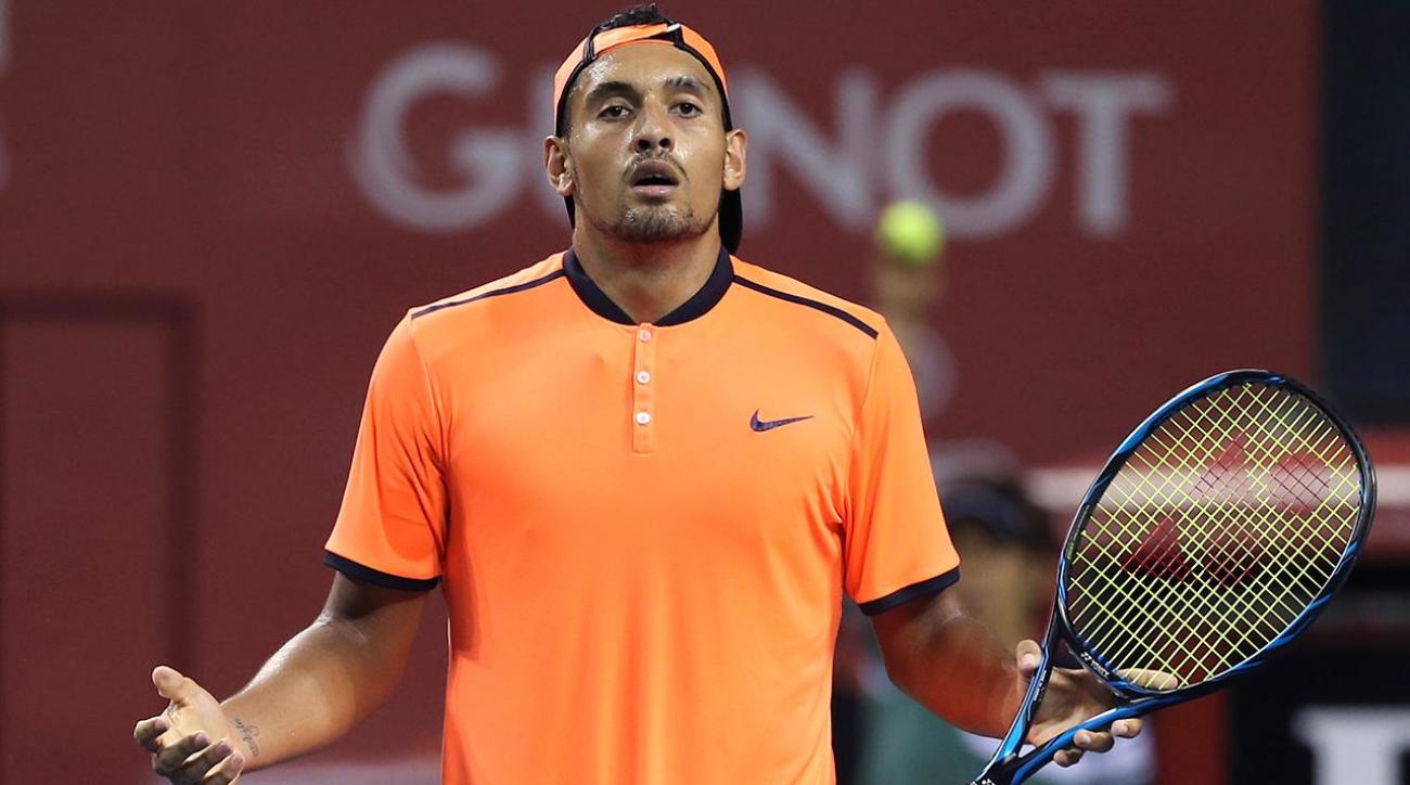ATP announces suspension, fine for Nick Kyrgios IMAGE