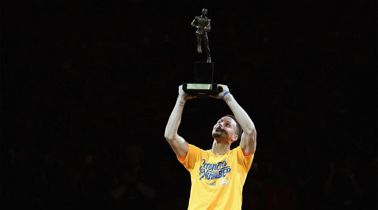 Stephen Curry picked by just 10% of NBA GMs to win MVP