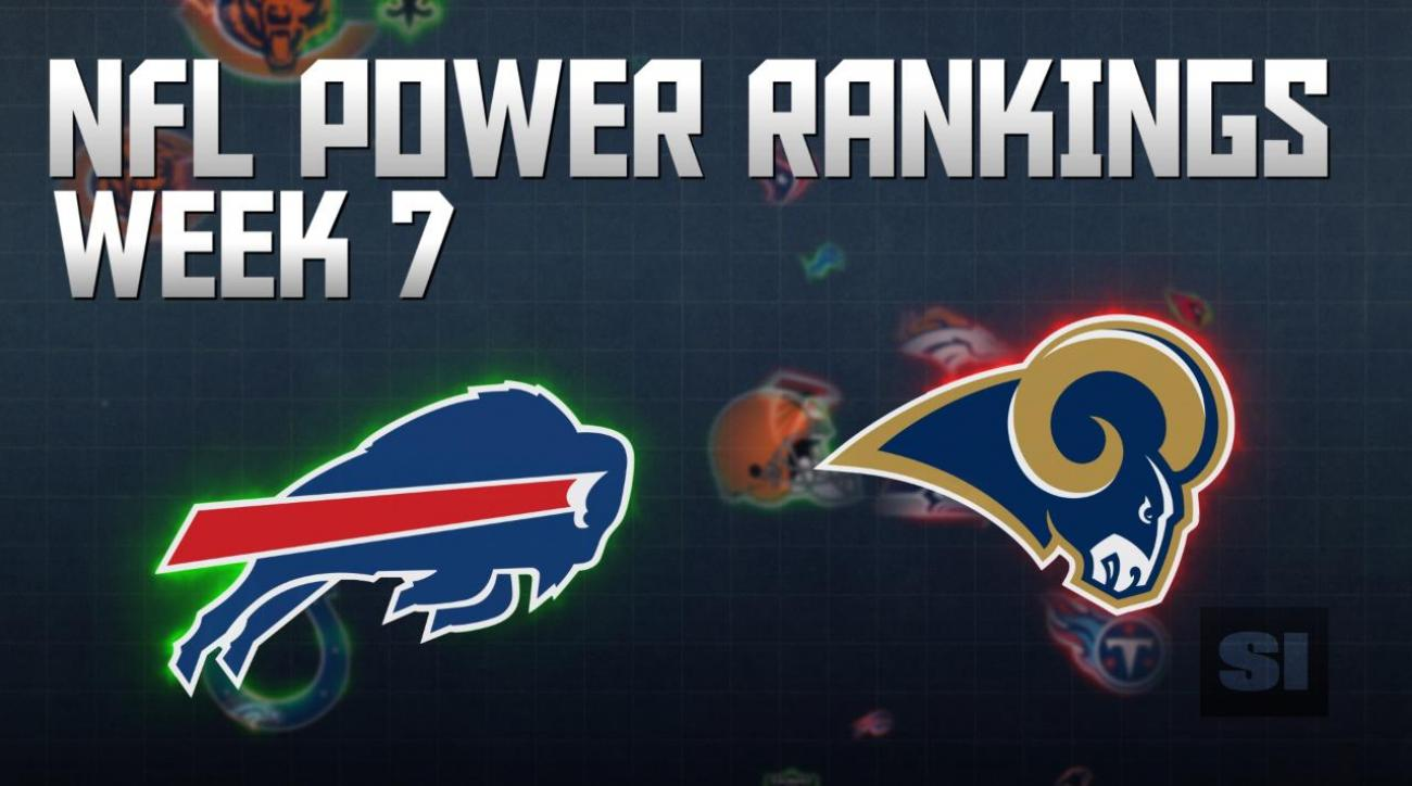 NFL Power Rankings: Week 7