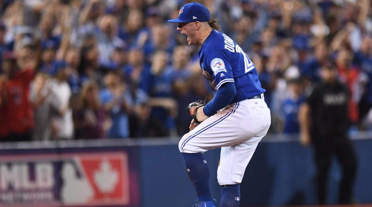 Blue Jays stave off elimination with 5-1 win over Indians in Game 4