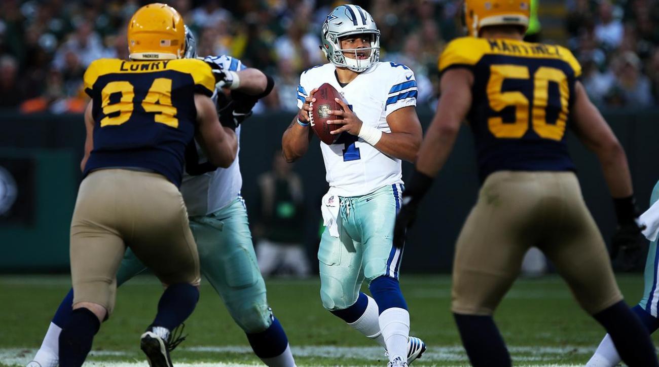 Cowboys to start Dak Prescott over Tony Romo vs. Eagles