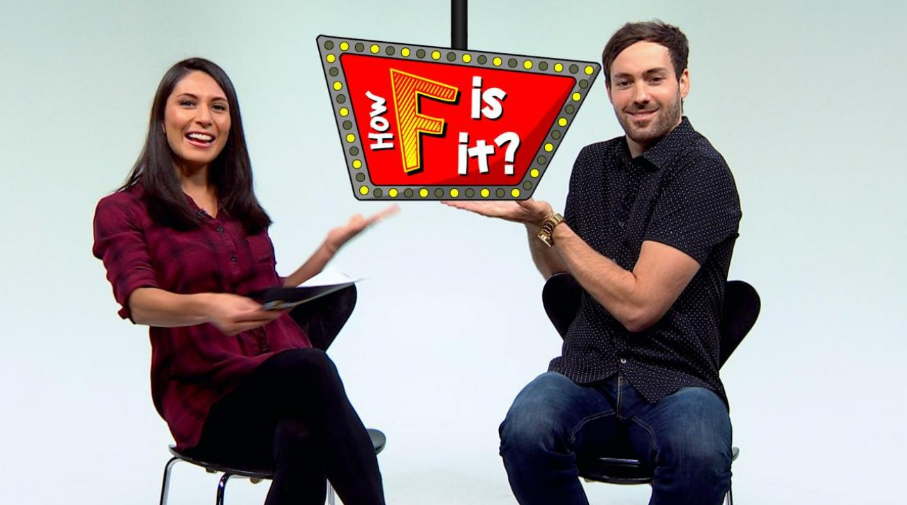 Comedian Jeff Dye plays 'How F is it?' IMG