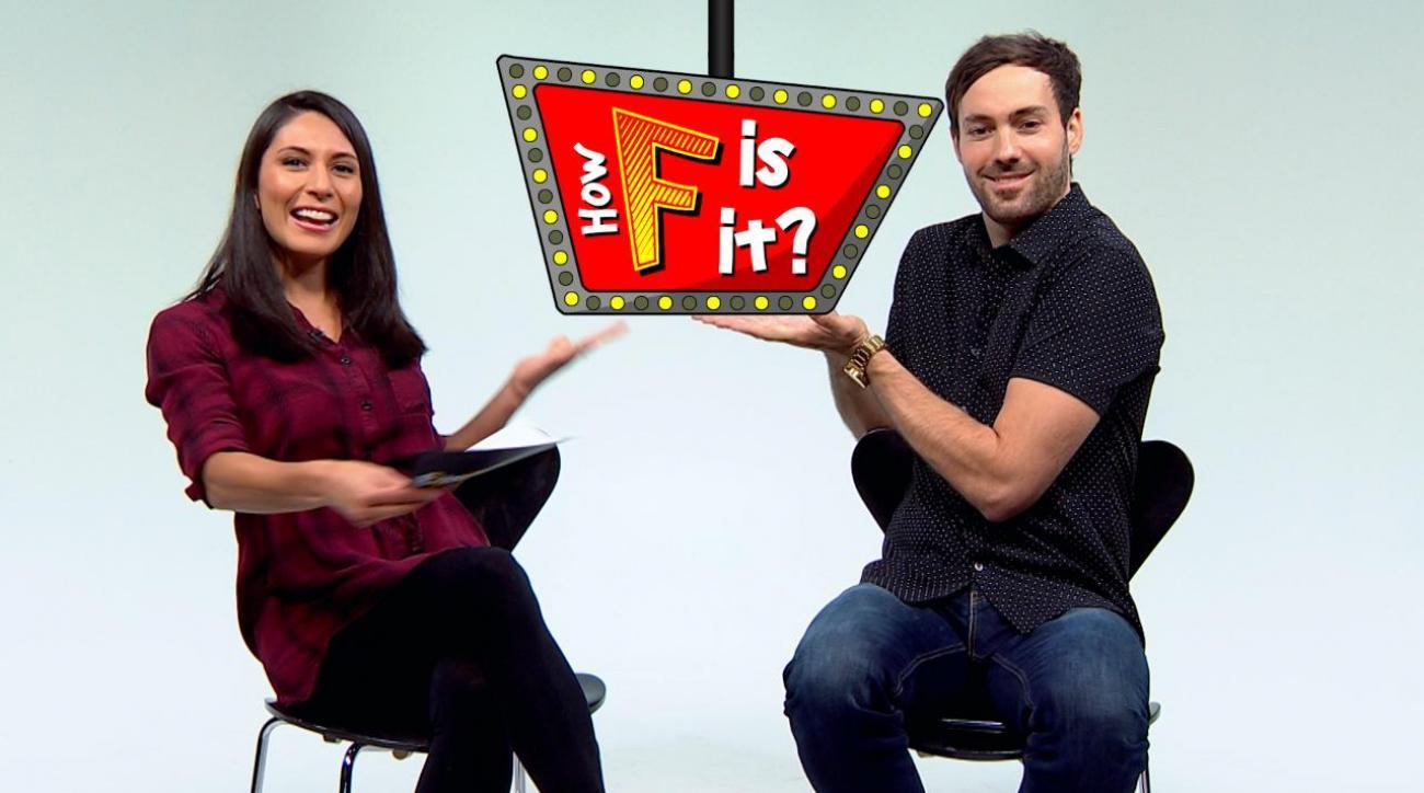 Comedian Jeff Dye plays 'How F is it?' IMG