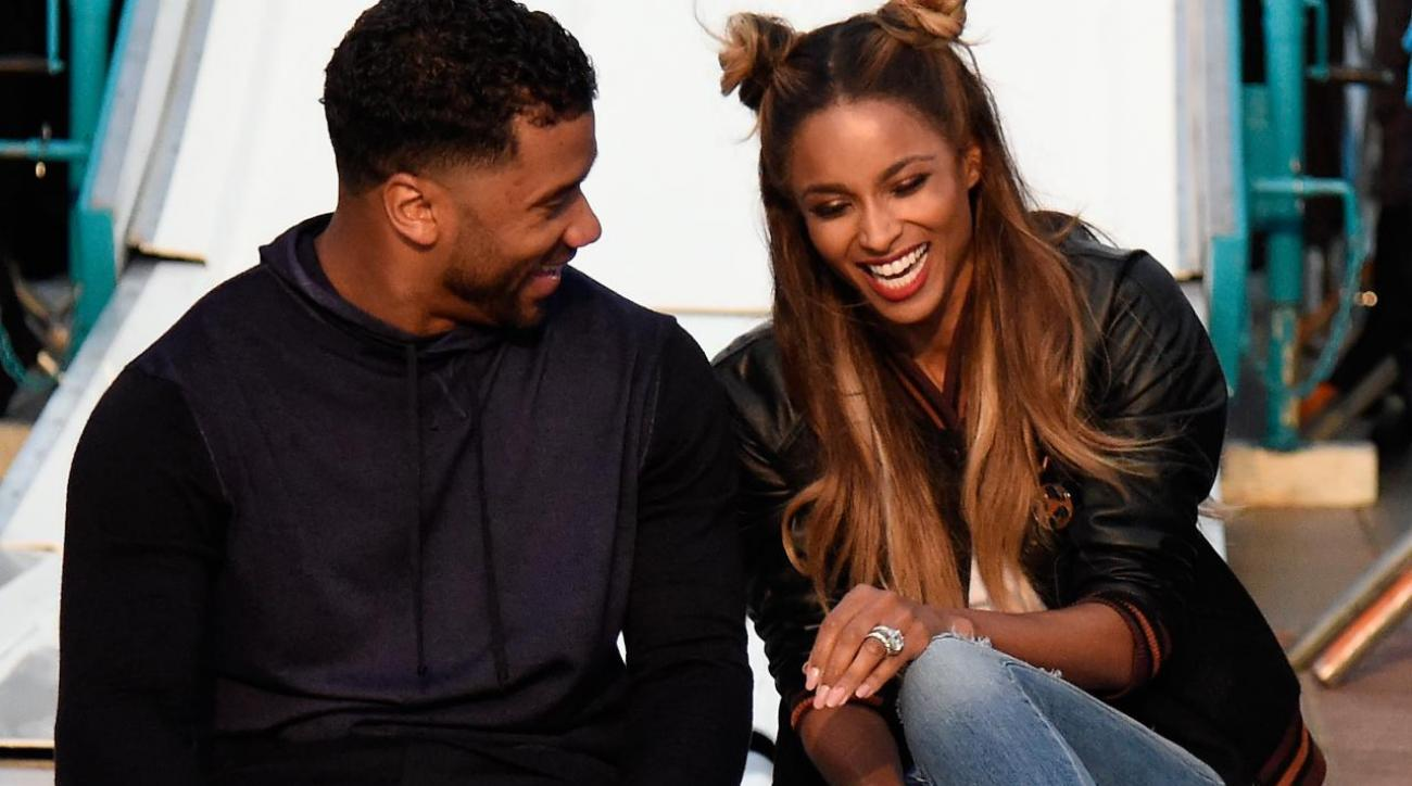 Are Russell and Ciara having a baby? IMAGE