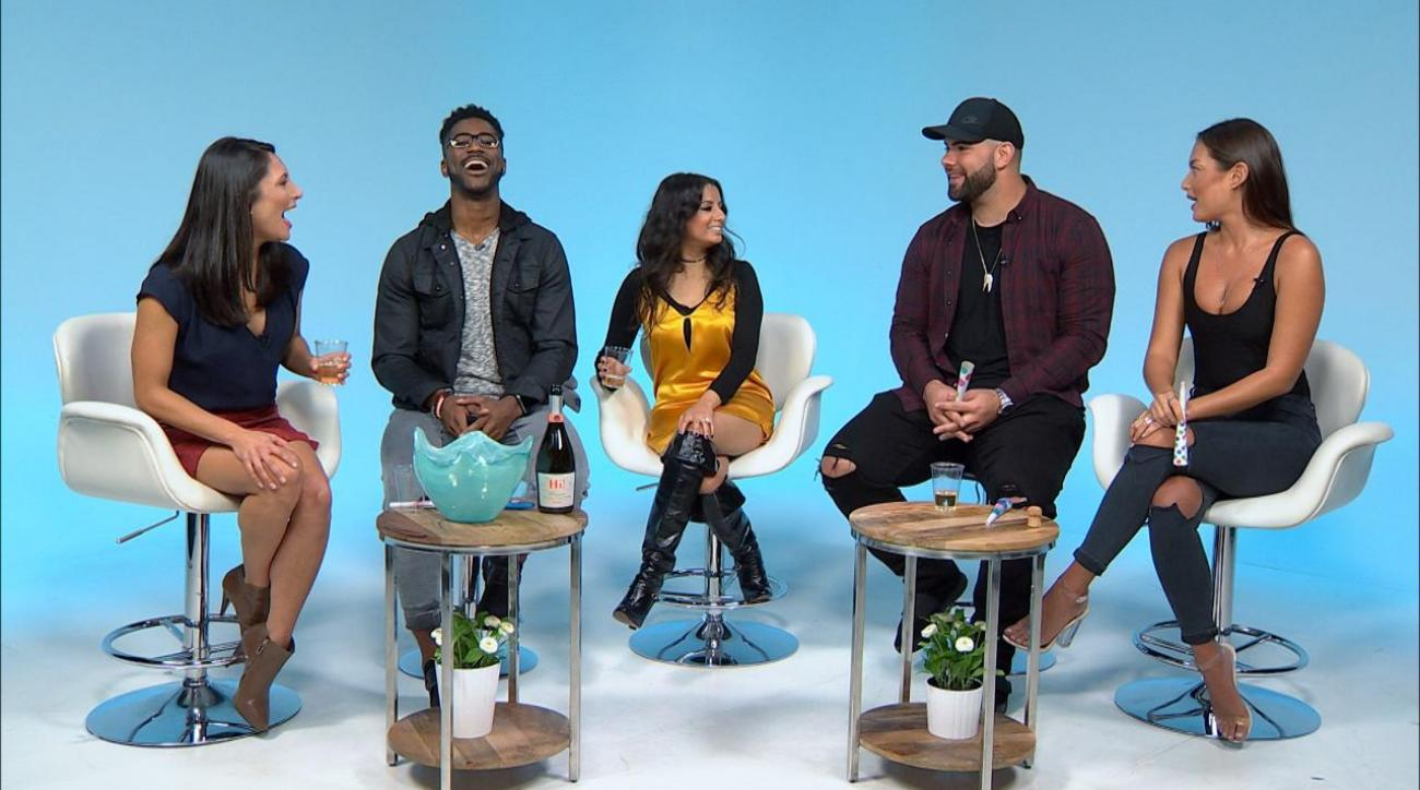 Sports Style Swipe: Swimsuit model Mia Kang and Giants' Justin Pugh on NFL players' style in Week 6 IMG