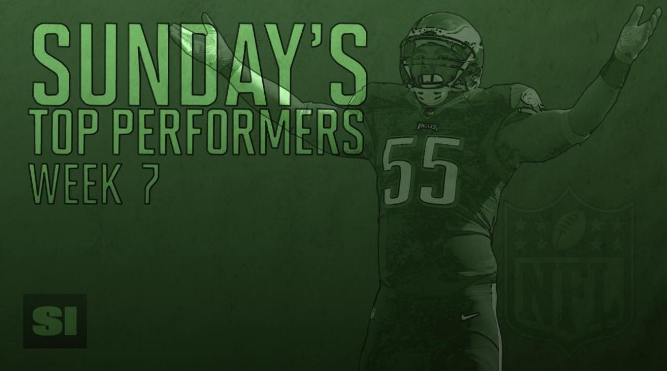 Sunday's Top Performers: Week 7