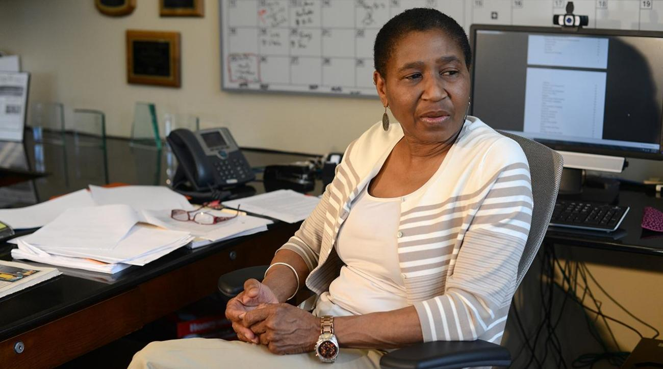 """Michele Roberts: """"I wouldn't mind routing the league."""" IMG"""