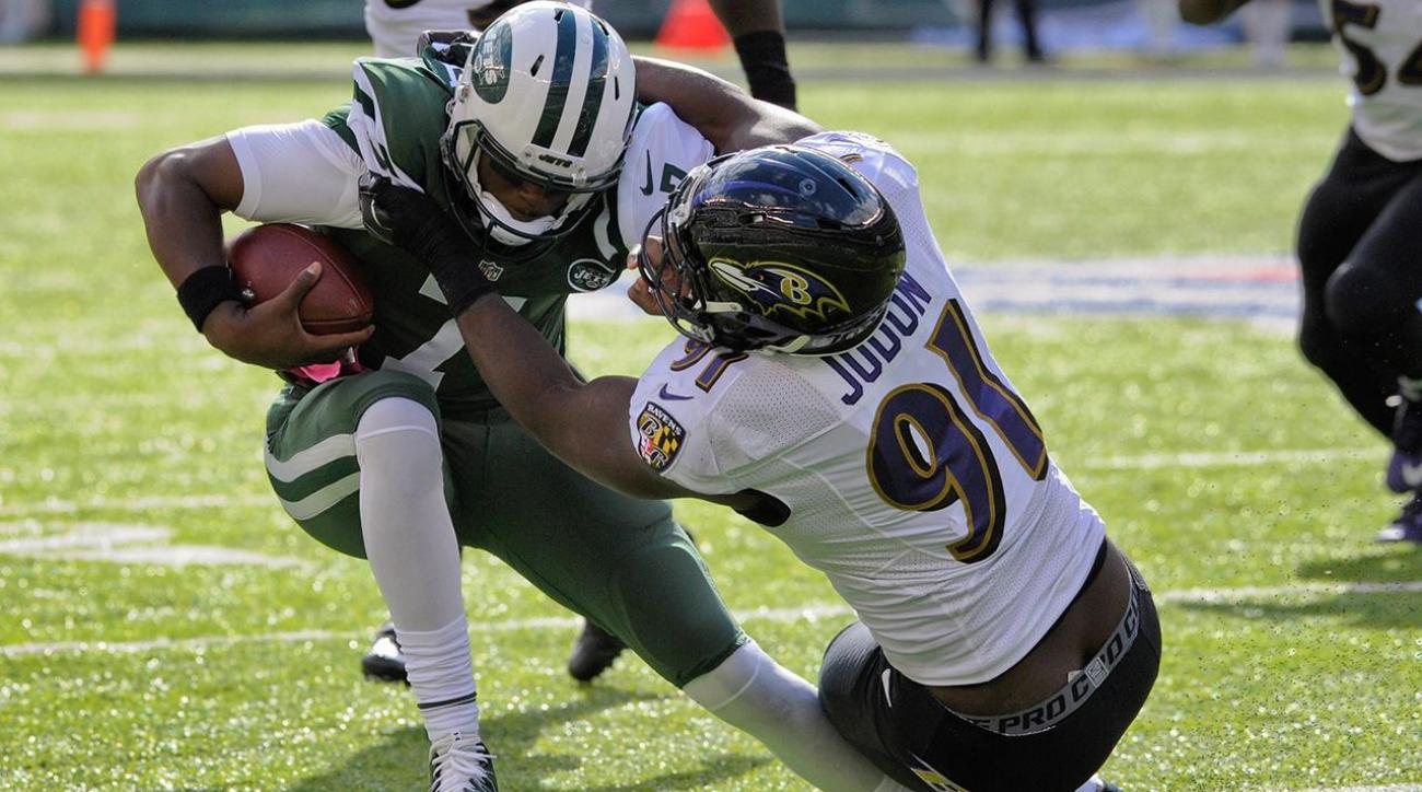 Jets QB Geno Smith out for season with torn ACL