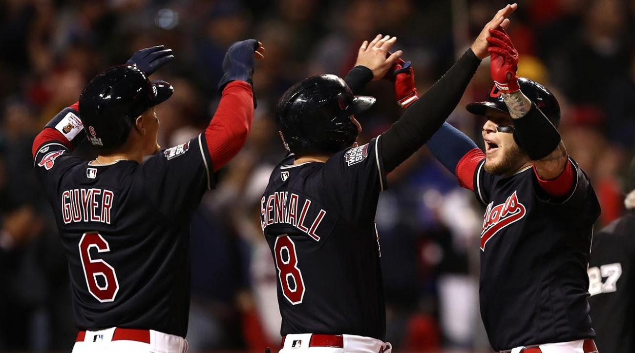 Indians shutout Cubs to take 1-0 World Series lead