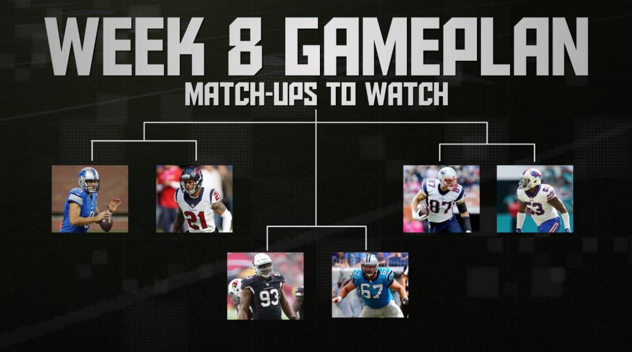 NFL's Week 8 Gameplan