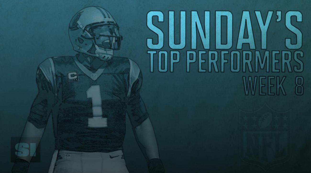 Sunday's Top Performers: Week 8