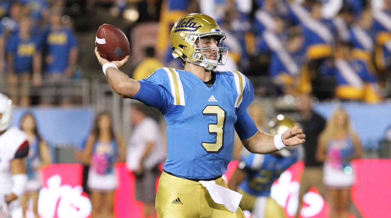 Report: UCLA quarterback Josh Rosen out for season