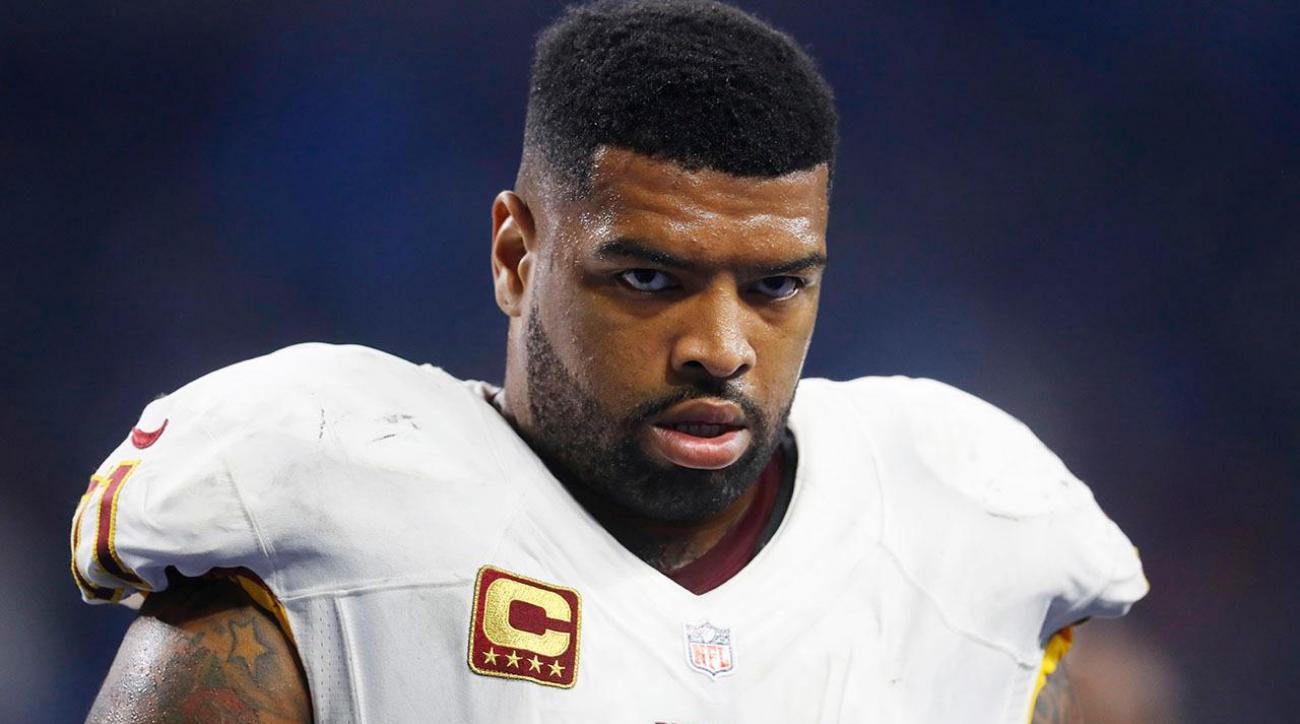 Redskins' Trent Williams suspended four games for substance abuse violation
