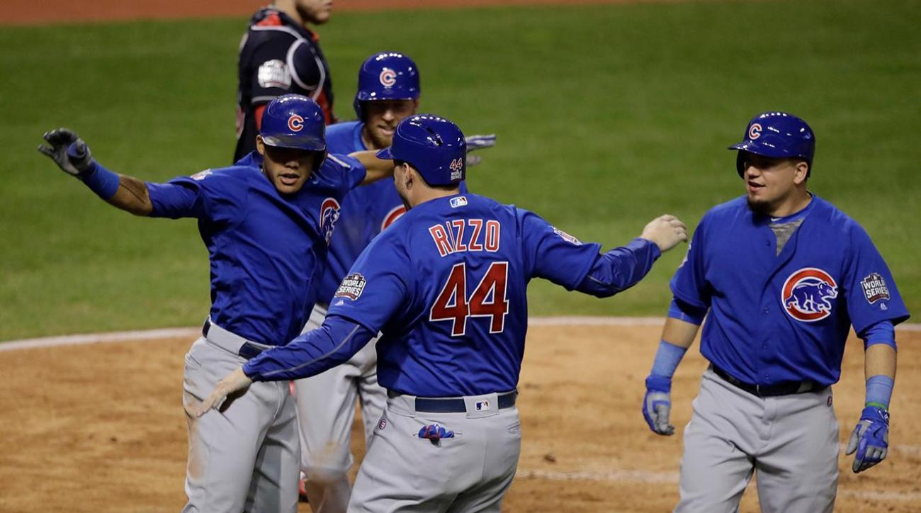 : Addison Russell's grand slam helps send World Series to Game 7