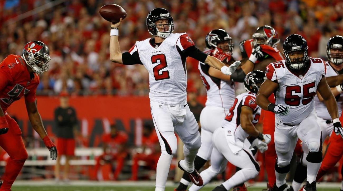 Matt Ryan's four touchdowns lead Falcons to win over Buccaneers