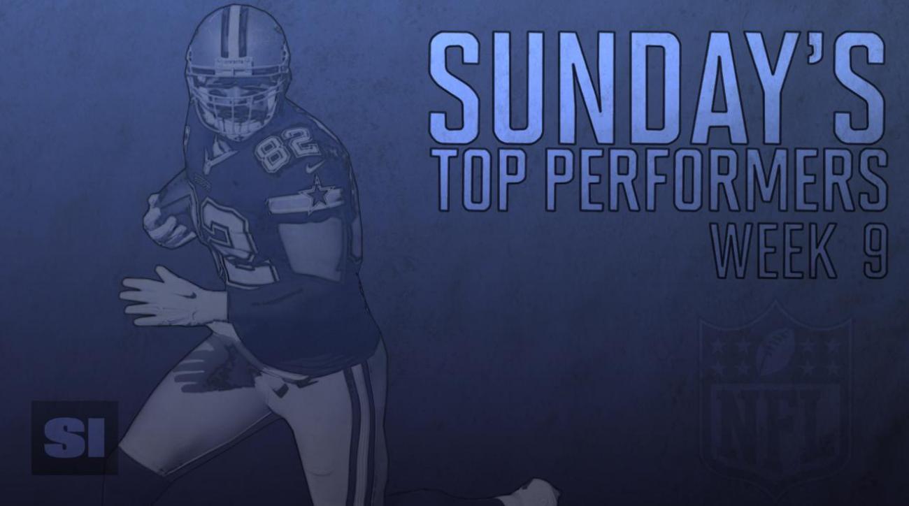 Sunday's Top Performers: Week 9