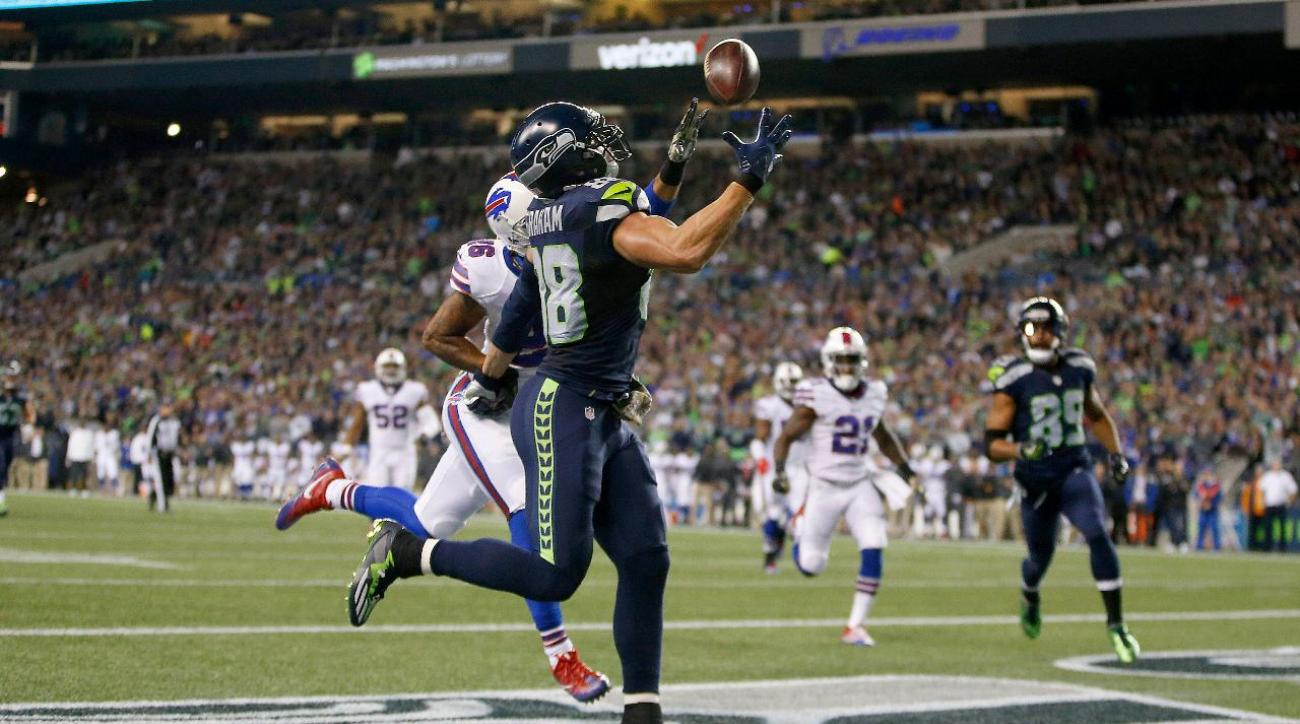Jimmy Graham's big night leads Seahawks to win over Bills