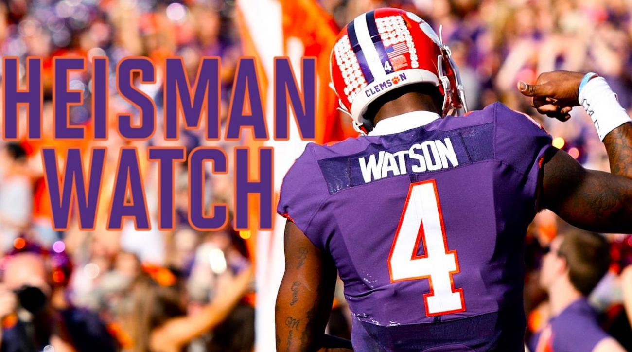 Lamar Jackson, Jake Browning headline Heisman Watch