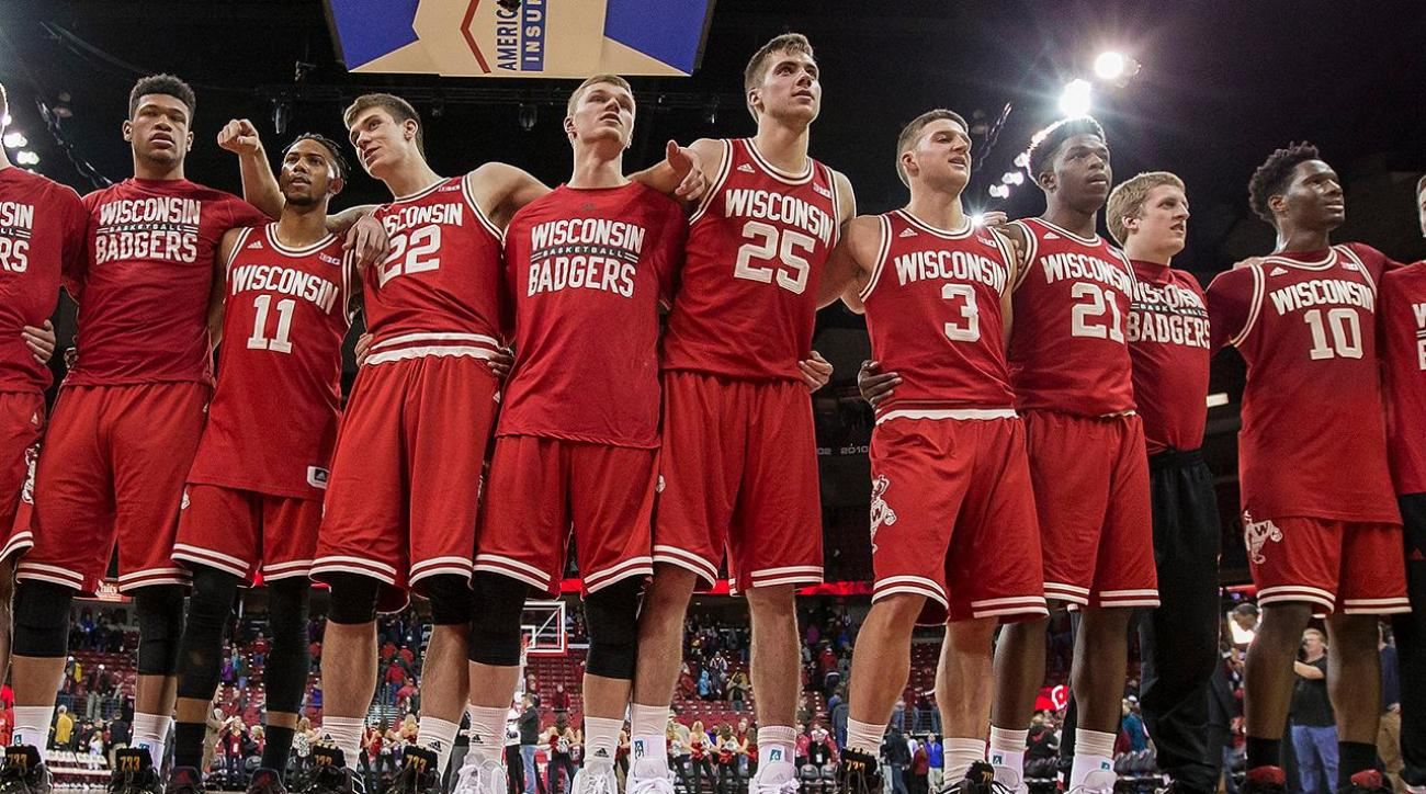 Nigel Hayes, Wisconsin athletes speak out against racial discrimination on campus IMAGE