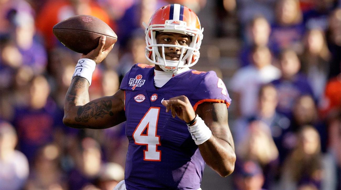 Clemson QB Deshaun Watson entering 2017 NFL draft