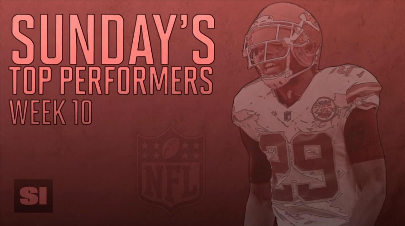 Sunday's Top Performers: Week 10