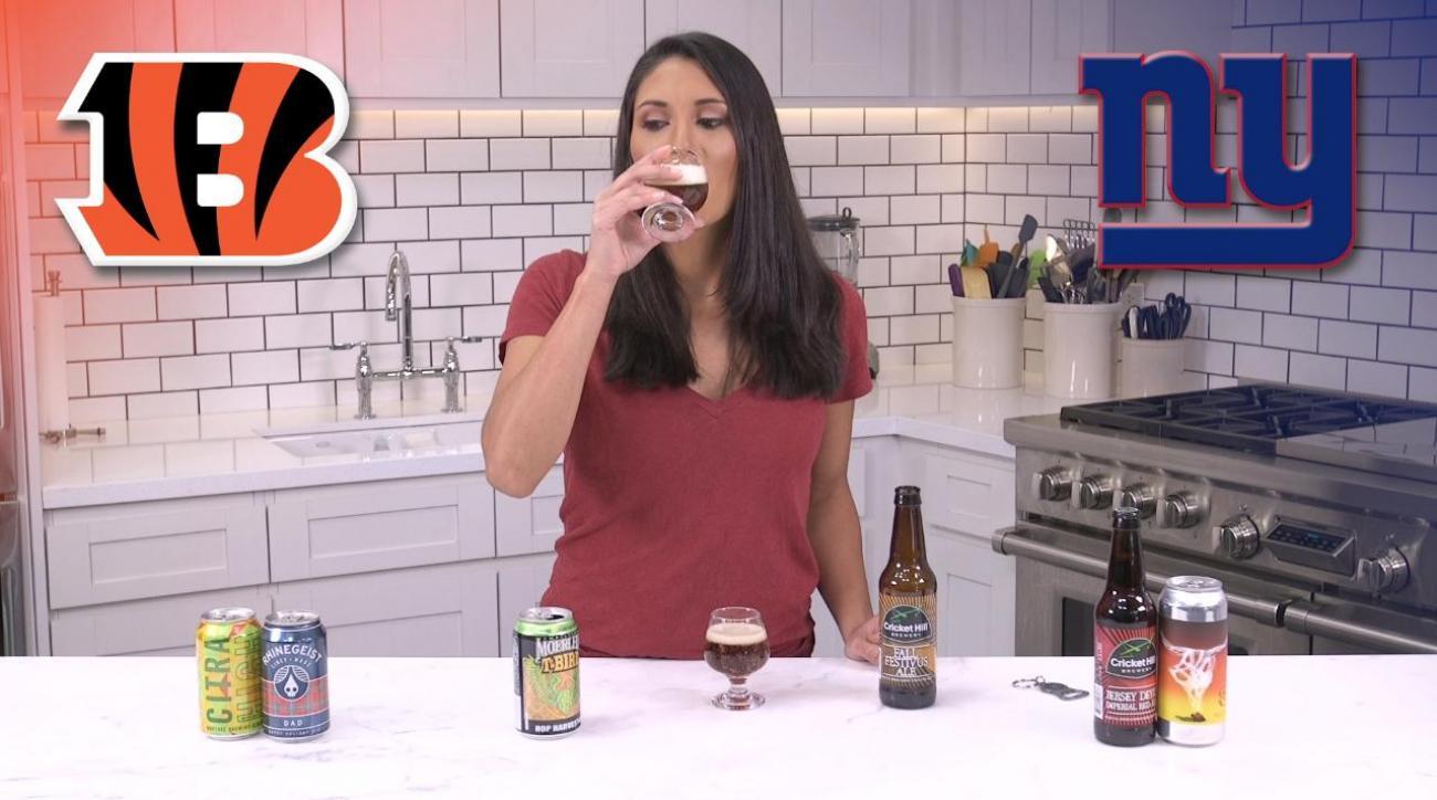 Monday Night Football Beer Pick 'Em Week 10: Cincinnati Bengals vs New York Giants IMG