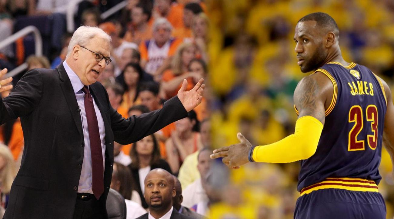 LeBron James frustrated by Phil Jackson's 'posse' comments
