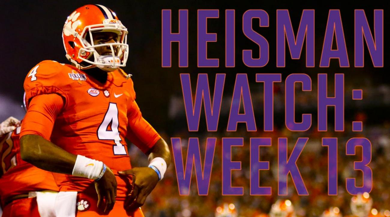 Heisman Watch: Week 13 review