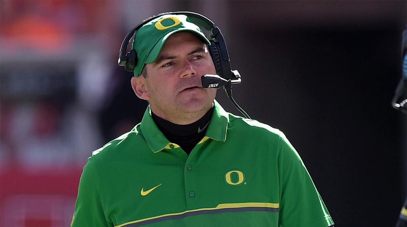 Oregon fires head coach Mark Helfrich